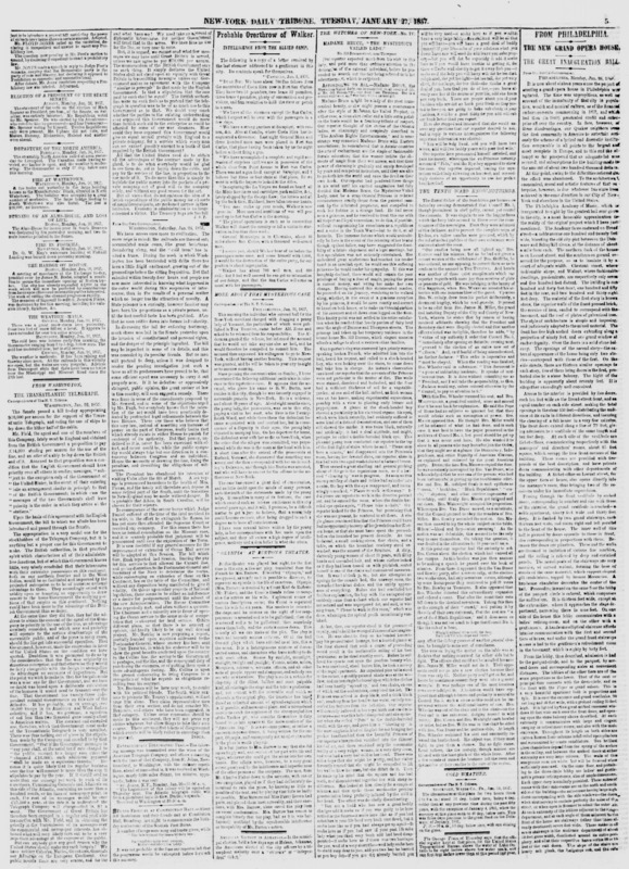 """A New York Tribune article written as part of the """"The Witches of New-York"""" series by Mortimer Thomson."""