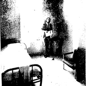"""Image of the ward referenced in Frank Sutherland's article, """"Reporter Finds Hospital Stay """"Demoralizing."""""""""""