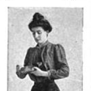 """Image of Marie van Vorst posing undercover for the exposing series, """"The Woman That Toils."""""""
