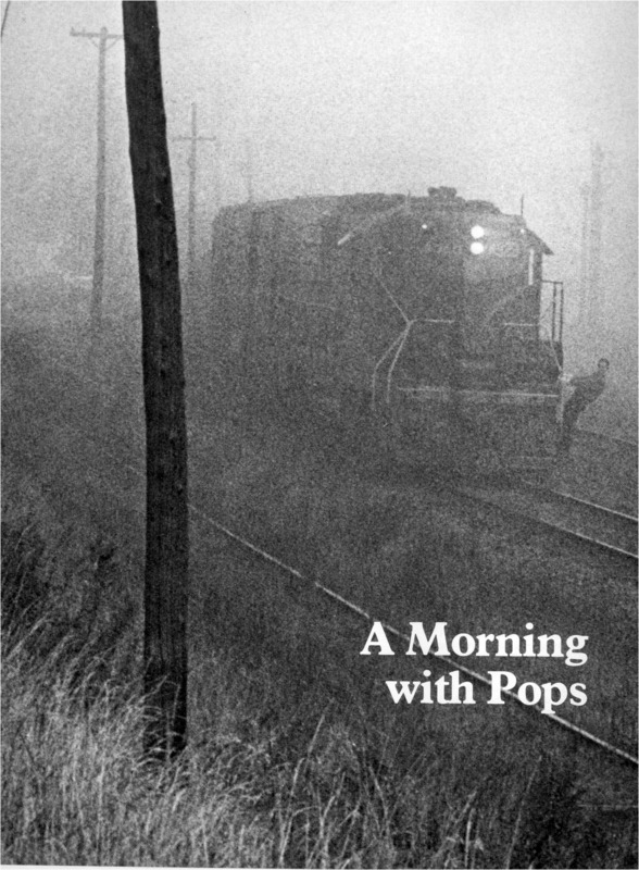 "Amherst Alumni Magazine article titled, ""A Morning with Pops."" Written by Ted Conover."