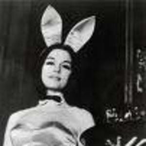"""Image of Gloria Steinem going undercover as a Playboy bunny for her article """"A Bunny's Tale."""""""