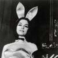 "Image of Gloria Steinem going undercover as a Playboy bunny for her article ""A Bunny's Tale."""